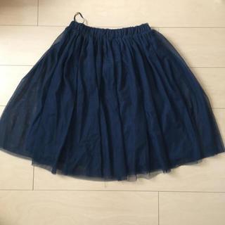 ハニーズ(HONEYS)のチュールスカート(ひざ丈スカート)