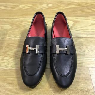 エルメス(Hermes)のHermes エルメス 靴/シューズ ローファー/革靴 パンプス 37(ローファー/革靴)