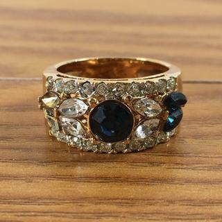 石付きゴールドリング (90014973)(リング(指輪))