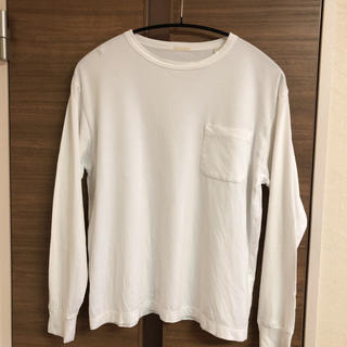 コモリ(COMOLI)のCOMOLI 【コモリ】 綿天竺クルーネック 1 白(Tシャツ/カットソー(七分/長袖))