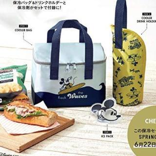 ミッキーマウス(ミッキーマウス)のスプリング 付録 新品未開封 保冷バッグ(弁当用品)