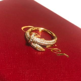 Cartier - 最高級ゴールド✨釘リング❤️