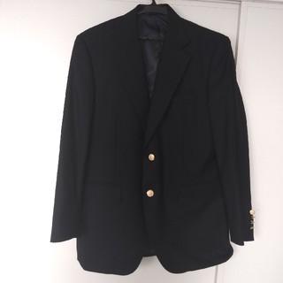 テーラードジャケット ネイビー スーツ オフィス 上着 羽織物(テーラードジャケット)