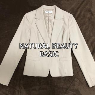 ナチュラルビューティーベーシック(NATURAL BEAUTY BASIC)のNATURAL BEAUTY BASIC スーツ (膝丈スカート)(スーツ)