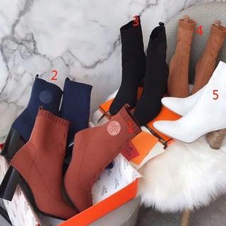 Hermes - HERMES ブーツ 22.5cm-24.5cm