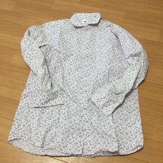 ユニクロ(UNIQLO)のユニクロ メンズ シャツ 花柄 XLサイズ(シャツ)