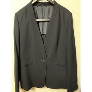 THE SUIT COMPANY - 値下げ!ほぼ新品!スーツカンパニーWHITE上下セット濃紺スーツサイズ38