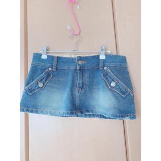 ブルームーンブルー(BLUE MOON BLUE)のミニスカート(ミニスカート)