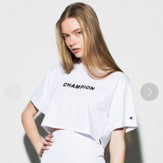 エモダ(EMODA)のEMODA champion コラボ ショート丈(Tシャツ(半袖/袖なし))