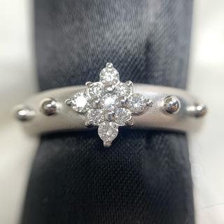 星の砂 k18wg ダイヤファッションリング(リング(指輪))