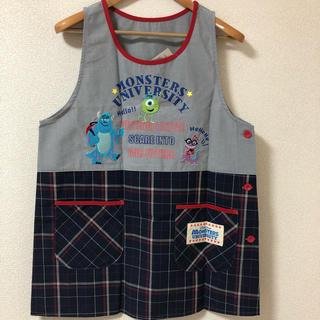 Disney - 【新品】ディズニー モンスターズインク  エプロン 保育士
