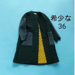 エンフォルド(ENFOLD)の今季1番人気のカーキ♡完売 エンフォルド キルティング コート 36 (ロングコート)