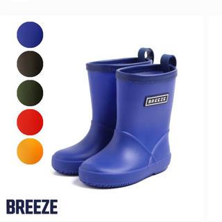ブリーズ(BREEZE)のキッズ レインブーツ 16㎝ 青色(長靴/レインシューズ)