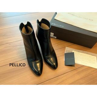 PELLICO - PELLICO バックジップショートブーツ