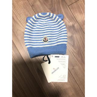 MONCLER - 新品❣️❁︎MONCLERベビー ❁︎ニット帽子❁︎
