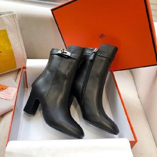 Hermes - HERMES ブーツ 22.5cm-25.5cm