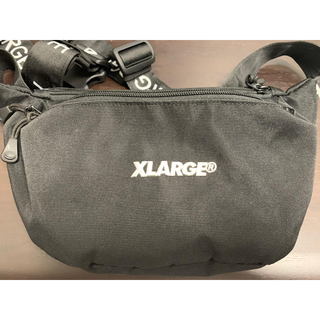 エクストララージ(XLARGE)のxlarge  ウェストバッグ ブラック(ウエストポーチ)