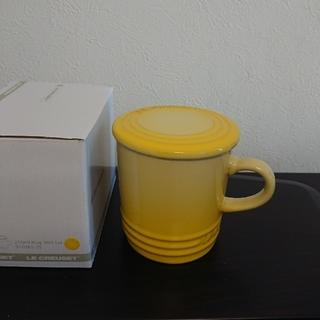 ルクルーゼ(LE CREUSET)のルクルーゼ マグカップ 蓋付き(食器)