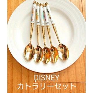 Disney - ディズニー キャラクター カトラリーセット ✨✨ スプーン5本セット