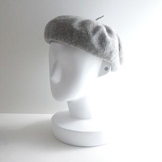アングリッド(Ungrid)の秋冬 ⚫Ungrid⚫ アングリッド ウールベレー帽 F ♪(ハンチング/ベレー帽)