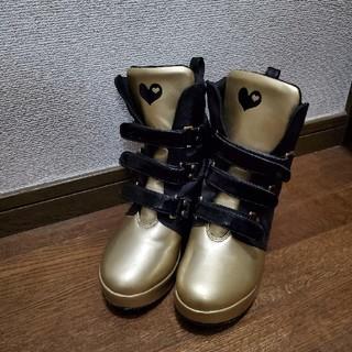 ロニィ(RONI)のRONI ハイカットブーツ 22cm(ブーツ)