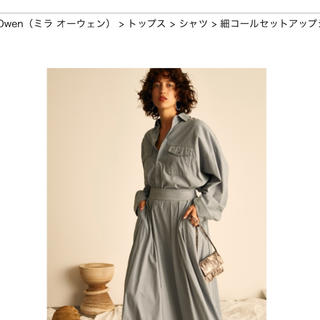 ミラオーウェン(Mila Owen)の2019秋冬 ミラオーウェン シャツ(シャツ/ブラウス(長袖/七分))