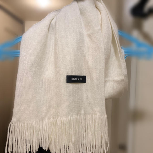 COMME CA ISM(コムサイズム)のマフラー レディースのファッション小物(マフラー/ショール)の商品写真