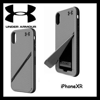 アンダーアーマー(UNDER ARMOUR)の日本未入荷★ UA アンダーアーマー iPhoneXR ケース カード収納可能(iPhoneケース)