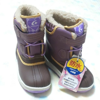 ムーンスター(MOONSTAR )の新品【18㎝EE】moonSTAR 冬靴スノーブーツ ウィンターブーツ(ブーツ)