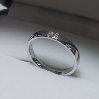 エルメス(Hermes)のエルメスリングAU750(K18ホワイトゴールド)(リング(指輪))