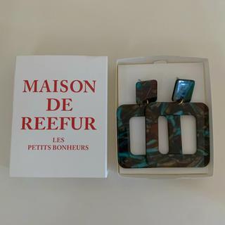 メゾンドリーファー(Maison de Reefur)の新品未使用 箱付き MAISON DE REEFUR ピアス(ピアス)