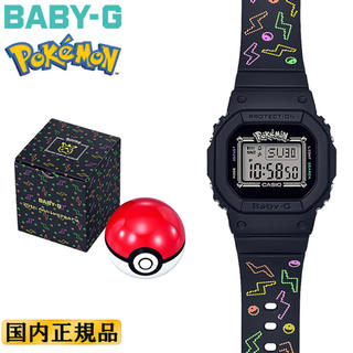 ベビージー(Baby-G)のベビーG ピカチュウ BGD-560PKC-1JR CASIO BABY-G(腕時計(デジタル))