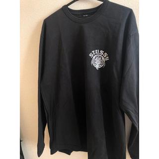 STUSSY - ★値下げ★ ステューシー sutssy 長袖ロングスリーブ ロンtシャツ 黒