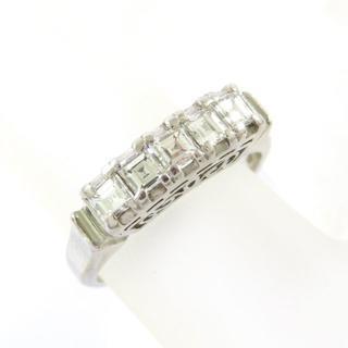 Pt900♪ダイヤモンド★デザインリング★指輪★0.55Ct★貴金属★送料無料(リング(指輪))