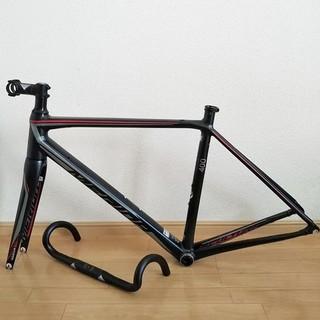 メリダ(MERIDA)の【専用出品】MERIDA SCULTURA400サイズ50メリダロードバイク黒赤(パーツ)