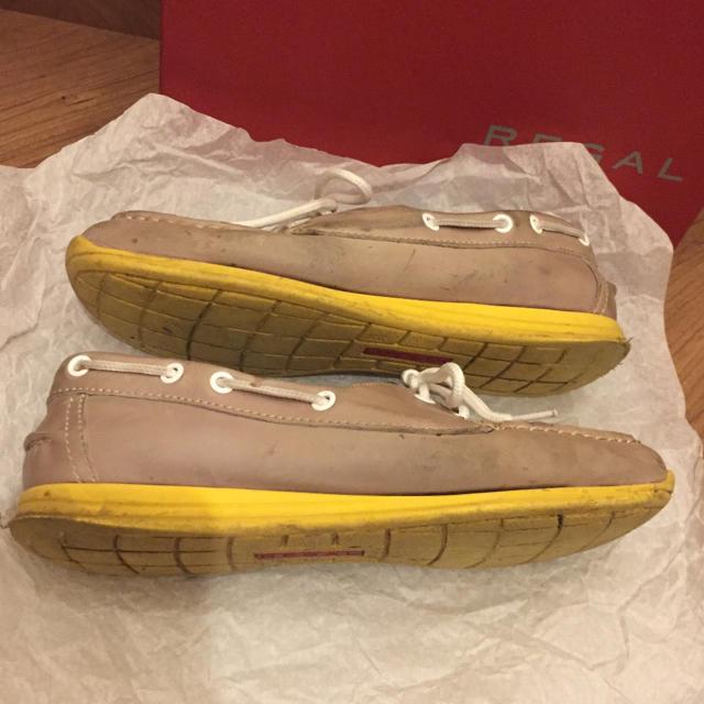 REGAL(リーガル)のリーガル レディース ローファー デッキシューズ レディースの靴/シューズ(スリッポン/モカシン)の商品写真