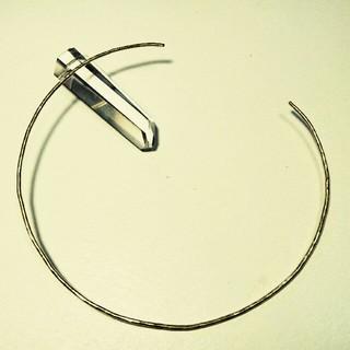オリジナル(Original)の◯真鍮ネックカフ 太さ1.6㎜◯(ネックレス)
