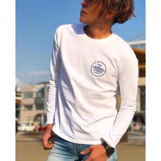 ロンハーマン(Ron Herman)のDrawing サークル Tシャツ ロンT Mサイズ ロンハーマン キムタク着(Tシャツ/カットソー(七分/長袖))