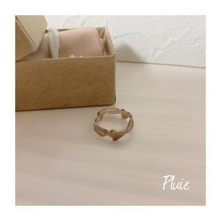 ロンハーマン(Ron Herman)のPluie プリュイ  リング 925シルバー☆ドゥーズィエムクラス(リング(指輪))
