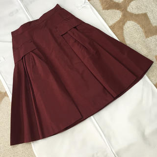 プラダ(PRADA)のPRADAフレアースカート   プラダ 、miu miu、ロシャス、(ひざ丈スカート)