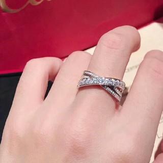 カルティエ(Cartier)のCartier カルティエ リング 指輪 めちゃめちゃ可愛い ホワイトゴールド(リング(指輪))