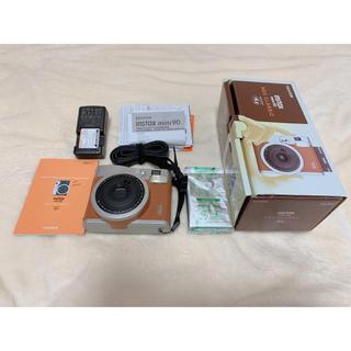 フジフイルム(富士フイルム)のチェキ instax mini 90 ネオクラシック Brown(ブラウン)(フィルムカメラ)