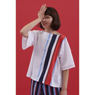マルニ(Marni)のmarni☆ 新品☆Cupsule CollectionボクシーフィットTシャツ(Tシャツ/カットソー(半袖/袖なし))