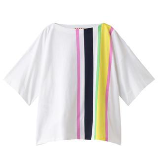 マルニ(Marni)のmarni☆新品☆ Cupsule CollectionボクシーフィットTシャツ(Tシャツ/カットソー(半袖/袖なし))