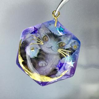 月猫スター ネックレス(ネックレス)