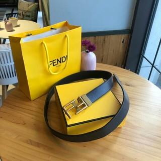 FENDI - 人気品 FENDIフェンディ ベルト 本革 正規品 メンズ 110CM