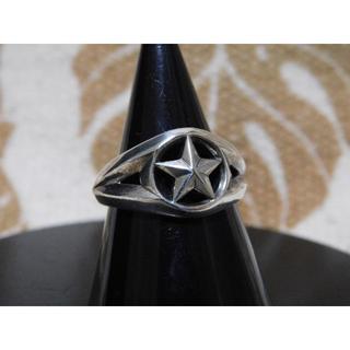 アンプジャパン(amp japan)のamp japan スターマーク リング 13号 アンプ 指輪 STAR 星(リング(指輪))