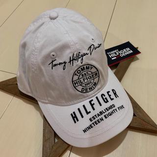 トミーヒルフィガー(TOMMY HILFIGER)のTOMMY HILFIGER トミーヒルフィガー  キャップ 帽子(キャップ)