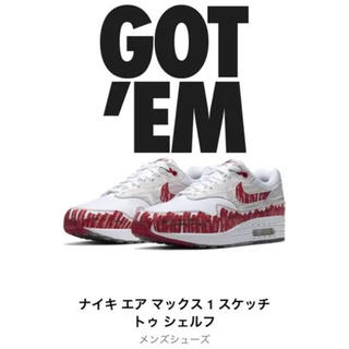 ナイキ(NIKE)のNIKE  AIRMAX 1 SKETCH TO SHELF (スニーカー)