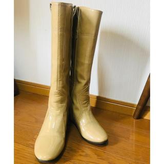 エスペランサ(ESPERANZA)のESPERANZA レインブーツ ベージュ(レインブーツ/長靴)